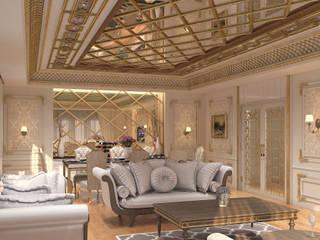 KRY Design – Salon Tasarımları:  tarz Oturma Odası,