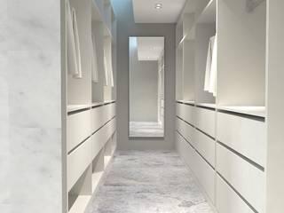Modern dressing room by KALYA İÇ MİMARLIK \ KALYA INTERIOR DESIGN Modern Wood Wood effect