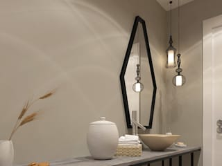 Kalya İç Mimarlık \ Kalya Interıor Desıgn Modern bathroom Wood Black