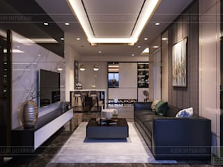 Modern living room by ICON INTERIOR Modern
