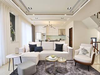 Ruang Keluarga oleh 安提阿設計有限公司, Modern