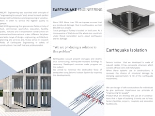 Akçay Teknik Mühendislik Mimarlık – Earthquake Isolation:  tarz Apartman,