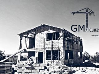 CONTRUCCION: Casas de estilo  por GM ARQUITECTOS MEXICO, Clásico