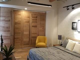 master bedroom DE LEON PRO Industrial style bedroom