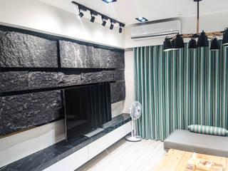 Modern living room by 大吉利室內裝修設計工程有限公司 Modern