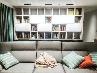 Moderne Arbeitszimmer von 大吉利室內裝修設計工程有限公司 Modern