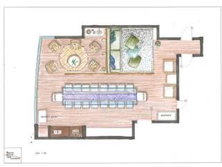 Eetkamer door Ligia Arquitetando, Rustiek & Brocante
