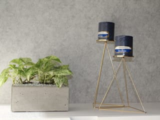 Paredes y pisos de estilo moderno de Maana Espacios con sentido Moderno