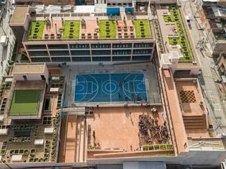 Bureau de style  par Arquiteck y Asociados Ltda, Moderne