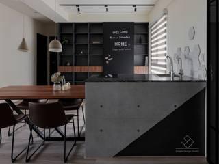 沉蘊.竹北L宅 根據 極簡室內設計 Simple Design Studio 現代風