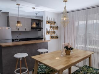 Phòng ăn phong cách hiện đại bởi Maana Espacios con sentido Hiện đại