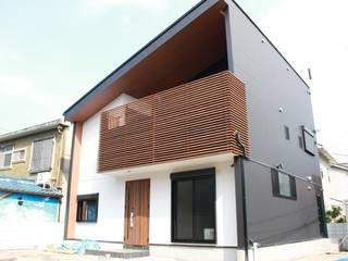 ローコスト・ハイクオリティ 北畠の新築住宅: (株)西村工務店が手掛けた一戸建て住宅です。,