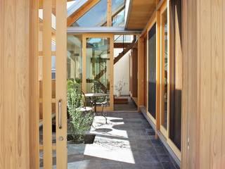 インナーテラスハウス の 一級建築士事務所 青木設計事務所 和風