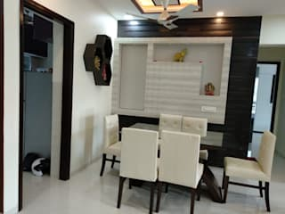 Seema Kandivali east 2bhk Classic style dining room by Clickhomz Classic