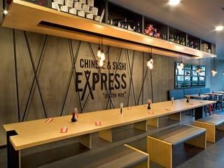 Td Architects – Chinese & Sushi Express Kurtköy Mimari Uygulama Projesi :  tarz Yeme & İçme,