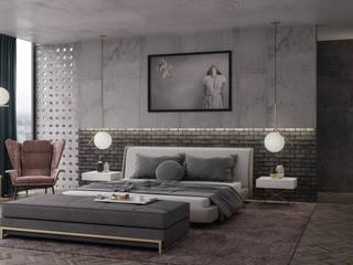 Dormitorios de estilo moderno de VICMA-design Moderno