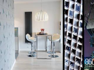 Apartament w Garnizonie Nowoczesna jadalnia od Studio 360 Nowoczesny