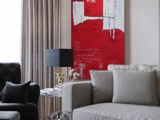Гостиная в американском стиле Гостиная в колониальном стиле от VERA KORCHAGINA design Колониальный