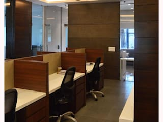 The Office project in Vadodara, Gujrat:  Offices & stores by Alcove Studio,