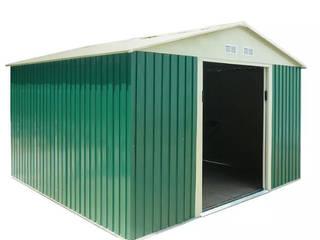 GiordanoShop 花園溫室與大帳棚 鋁箔/鋅 Green