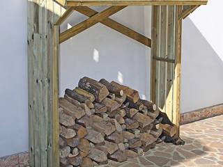 GiordanoShop 花園配件與裝飾品 木頭 Brown