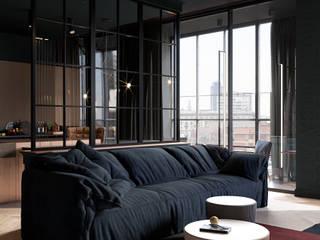 Copper Field Гостиные в эклектичном стиле от Cartelle Design Эклектичный