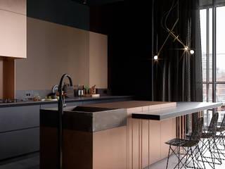 Copper Field Кухни в эклектичном стиле от Cartelle Design Эклектичный