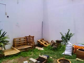remodelación cocina y jardin Jardines modernos de nido arquitectos Moderno