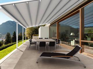 Parasoles Tropicales - Arquitectura Exterior Espacios comerciales Aluminio/Cinc