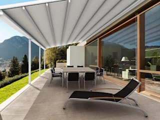 de Parasoles Tropicales - Arquitectura Exterior Moderno