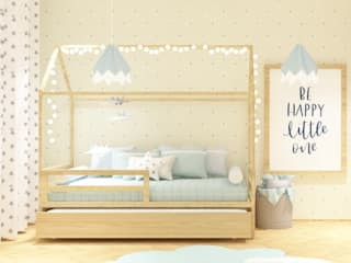 Teepee Indian Baby Room por Ana Rocha