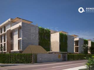 Departamentos en venta CASA LIBRE TULUM, Aldea Zamá, Tulum, Quintana Roo Casas minimalistas de Agencia Inmobiliaria Bienes Raíces Quintana Roo Real Estate Minimalista