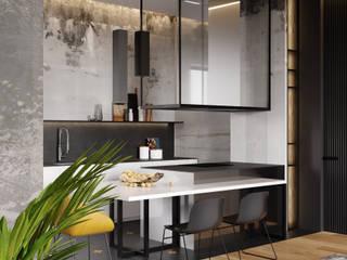Ok loft Кухня в стиле лофт от Cartelle Design Лофт