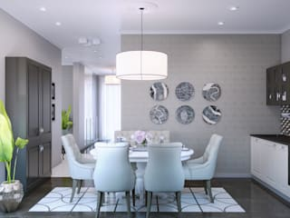Wide Design Group Classic style dining room
