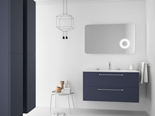 Muebles de diseño para un baño perfecto:  de estilo  de Banium-Reformas del Hogar en Madrid, Moderno