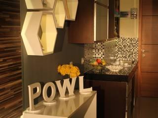 Beverly Honeycomb Tipe Studio Apartment Dapur Gaya Eklektik Oleh POWL Studio Eklektik