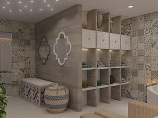 Spa de style  par Wide Design Group,