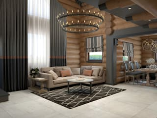 Country style living room by Wide Design Group Country