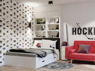Dormitorios infantiles modernos de Goroh бюро Moderno