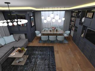 Modern dining room by FORMS MİMARLIK Modern