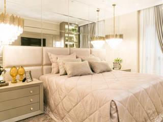 Projeto residencial E+F _em Itapema Sc Quartos modernos por abittare design Moderno