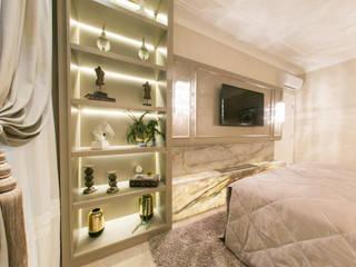 Projeto residencial E+F _em Itapema Sc Quartos clássicos por abittare design Clássico