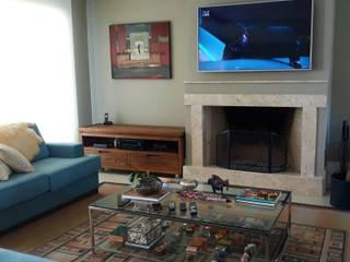Living room by I9 Tecnologia -  Automação & Home Theater, Modern