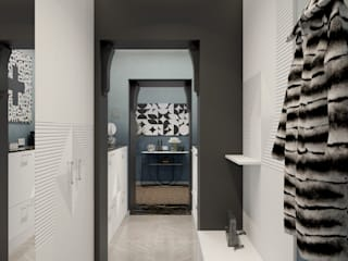 Couloir et hall d'entrée de style  par Wide Design Group,