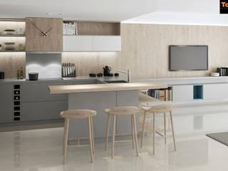 Diseño de interior de vivienda de vacaciones frente al mar de Tono Lledó Estudio de Interiorismo en Alicante Minimalista