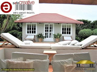 PERGOLAS LUXURY Garden Shed