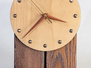 Часы настенные от ЯрдовДеко Рустикальный