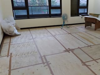 施工保護 根據 大吉利室內裝修設計工程有限公司 隨意取材風