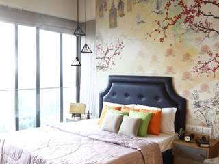 Ausgefallene Schlafzimmer von Neha Changwani Ausgefallen