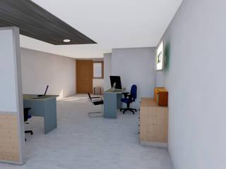 Modern study/office by DACAT Modern